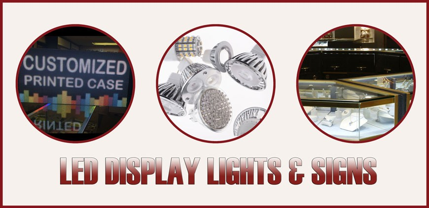 LED LIGHTS & SIGN